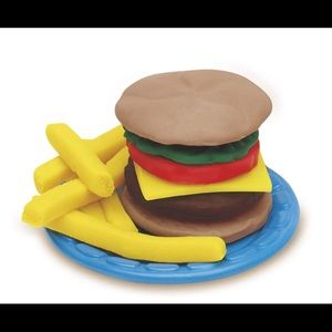 Play-Doh Office - Play-Doh: Kitchen Creations Burger Barbecue Set